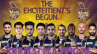 IPL 2019 - KKR Playing 11 2019 | Kolkata Knight Riders Full Squad 2019 |