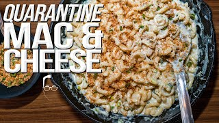 THE BEST MAC & CHEESE MADE WITH WHAT YOU HAVE LEFT | SAM THE COOKING GUY 4K