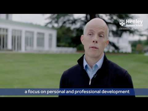 Why choose Henley for a part-time MBA video thumbnail