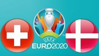 Switzerland Vs. Denmark   Euro 2020 Qualification   PES 2019