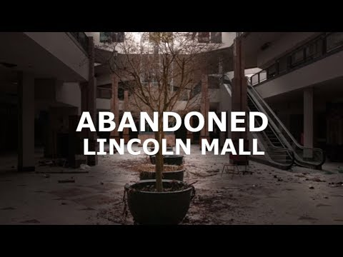 ABANDONED LINCOLN DEAD MALL NEVER BEFORE SEEN