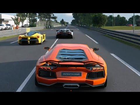 Gran Turismo Sport - Lamborghini Aventador   Le Mans Gameplay (PS4 HD) [1080p60FPS]