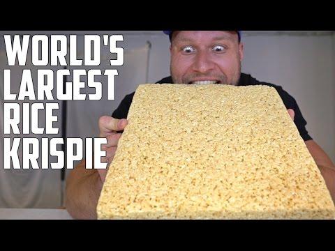 WORLD'S LARGEST RICE KRISPIE TREAT CHALLENGE!
