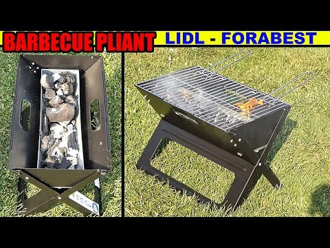 barbecue pliant LIDL FLORABEST Folding Barbecue Klappgrill Barbacoa plegable Преносим грил