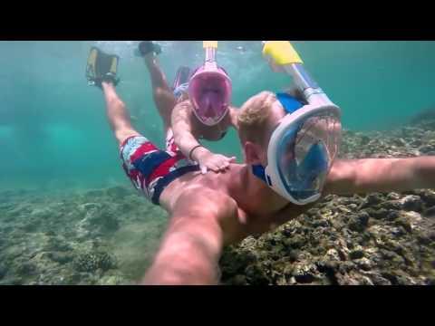 H2O Ninja: Esta Máscara De Snorkeling Te Permite Respirar Por Tu Boca Y Nariz Bajo El Agua