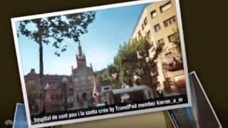 preview picture of video 'Hospital de Sant Pau - Barcelona, Catalonia, Spain and Canary Islands'