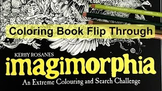 Coloring Book Flip Through Imagimorphia By Kerby Rosanes