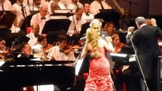 """Andrea Bocelli & Maria Aleida """"Quizás, Quizás, Quizás"""" @ The Hollywood Bowl 6/8/2013"""
