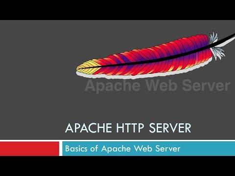 Basics of Apache Webserver - YouTube