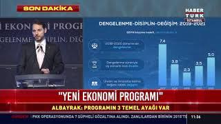 Hazine Bakanı Albayrak Yeni Ekonomi Programını Açıklıyor