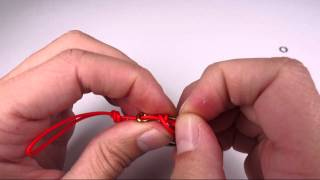 Tying assist cord for jigging - 'Pirates' style