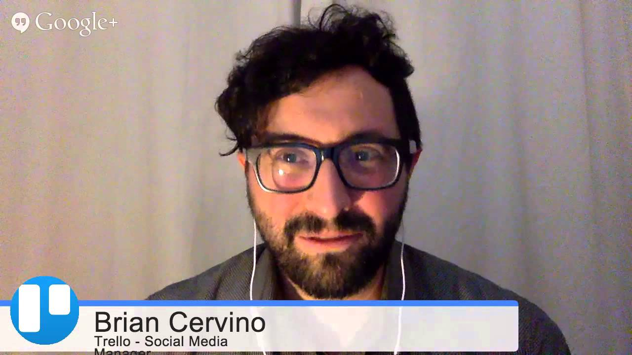 Trello:  Social Media Marketer Brian Cervino * WTTV 1.15