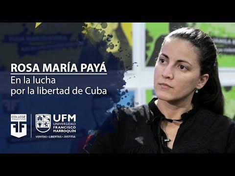 Rosa María Payá: en la lucha por la libertad de Cuba