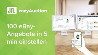 JTL-eazyAuction - 100 eBay-Angebote in 5 min einstellen