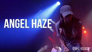 "Angel Haze ""D-Day""/ ""Babe Ruthless"" Live on SKEE TV"