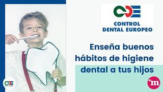 Enseña buenos hábitos de higiene dental a tus hijos