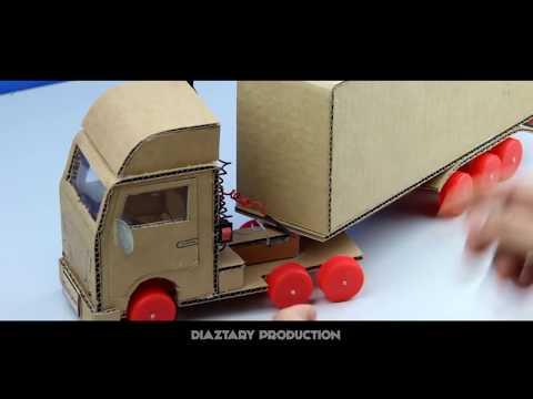 Cara Membuat Mainan Truk Transpormers Dari Kardus Prakarya Anak