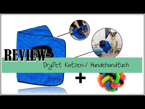 DryPet Katzen-/ Hundehandtuch mit Handeinsätzen Review