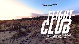 FPV Flying Wing Quarry Carving with Friends!