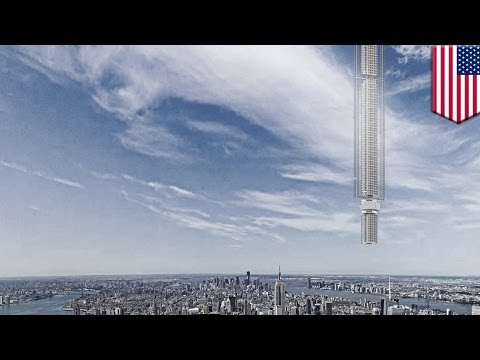 world's first upside down skyscraper would hang from asteroid
