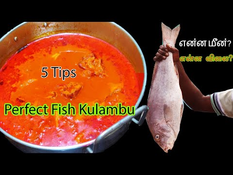 5 Tips for Perfect Fish Kuzhambu in tamil|Fish Kulambu|Fish Curry Recipe|Meen Kulambu Recipe n Tamil