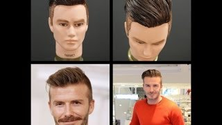 David Beckham NEW 2014 Haircut Tutorial | TheSalonGuy