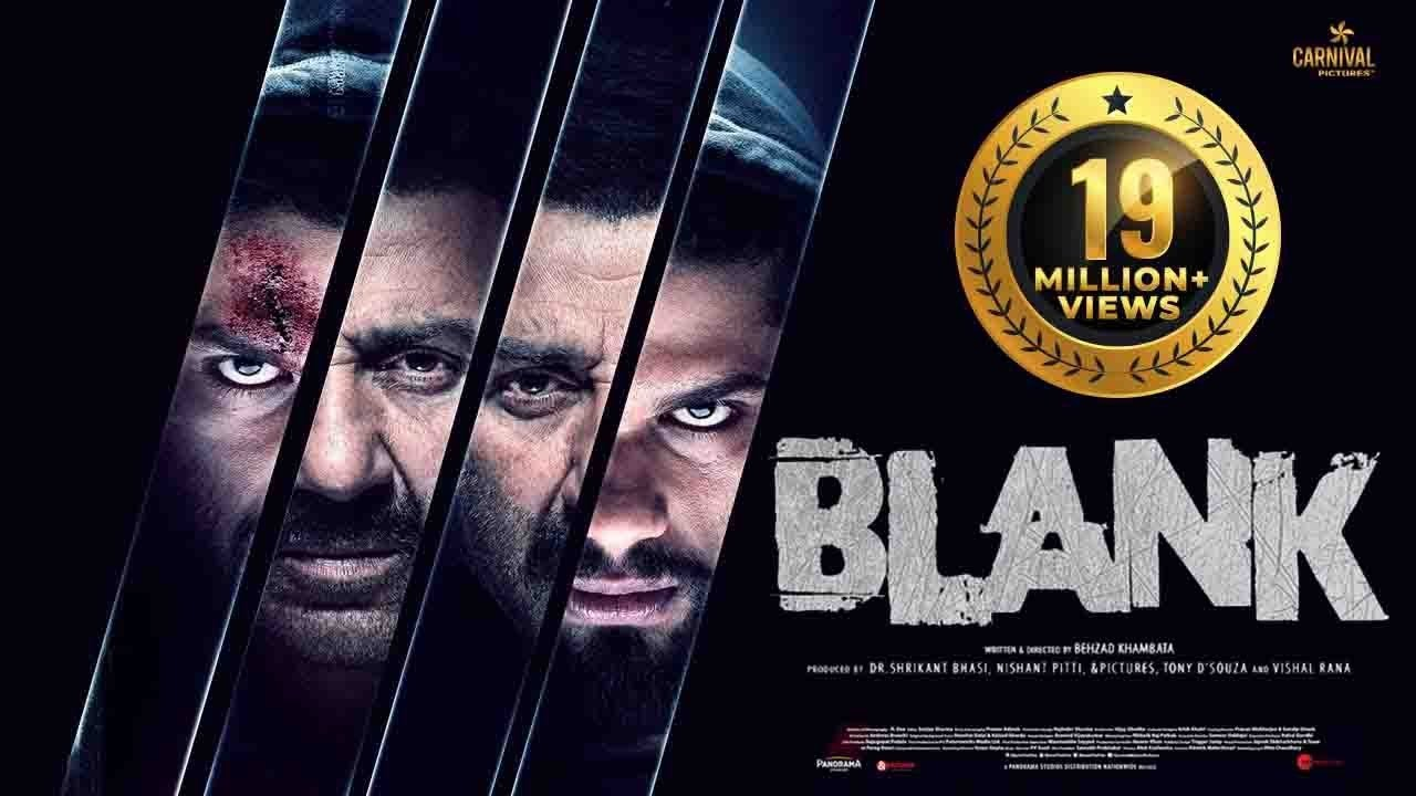 Sunny Deol rocks in action – thriller BLANK with debutante Karan Kapadia