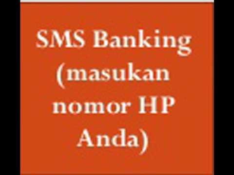 Video CARA MENDAFTAR SMS BANKING