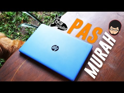 Laptop 7 Jutaan Buat Gaming ENTENG dan Multimedia – Review HP 15 BW072AX – Lazy Tech