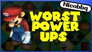 TOP 10 WORST MARIO POWER UPS!