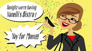 Vanelli's Bistro - Yay for Mom Commercial