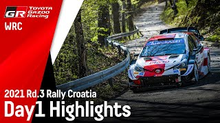 TGR WRT Rally Croatia 2021 Day 1 Highlights