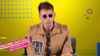 """""""I'm definitely showing a different side of myself on this album"""" Machine Gun Kelly"""