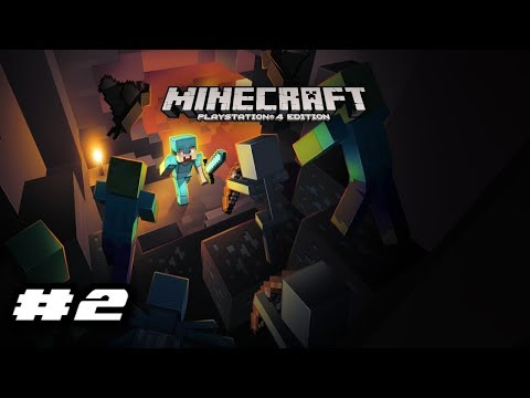 Minecraft PlayStation 4 Edition Gameplay - EXHAUSTED MINE