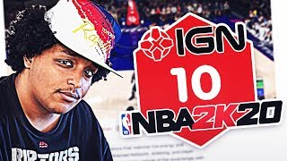 IGN CAUGHT LYING IN THEIR NBA 2K20 REVIEW...