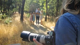 POSING IDEAS FOR FAMILY PORTRAITS, Shooting Outdoor With Natural Light, Family Of 5 Vlog 037