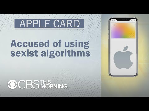 Apple Card accused of gender discrimination in its algorithm