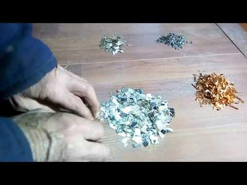 Аффинаж серебра  из КСО конденсаторов без кислот.