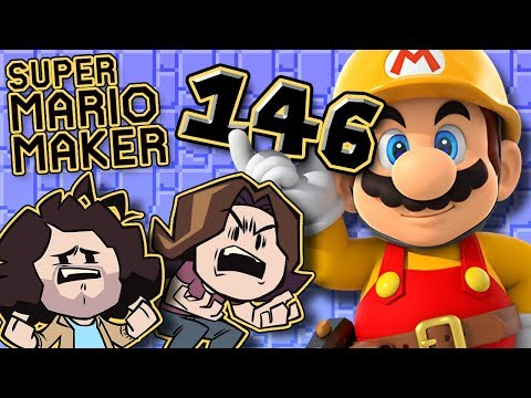 Super Mario Maker: Springy Anger - PART 146 - Game Grumps