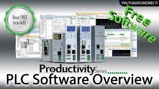 productivity plc software tag based plc programming with free plc