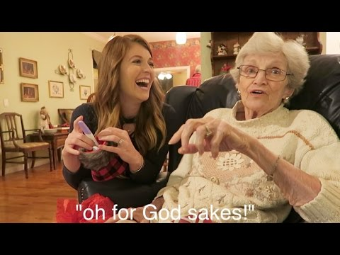 Grandma's HILARIOUS Reaction To Pregnancy Reveal! // Family Pregnancy Reactions!