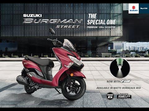 Suzuki Burgman Street BS6 - TVC