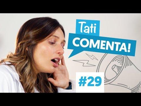 Imagem ilustrativa do vídeo: BARRINHA DE CEREAL FAZ MAL? | Tati Comenta #29