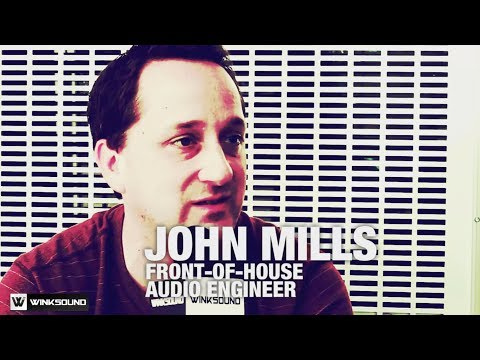 PreSonuSphere 2013 | John Mills on Live Sound | WinkSound
