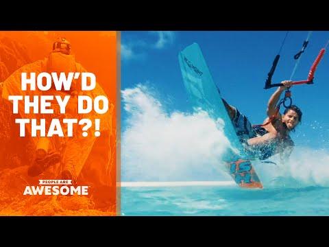 Esportes Extremos: Como é que fazem essas coisas?