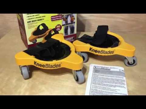 Milescraft 1603 KneeBlades - Rolling Knee Pads with Wheels