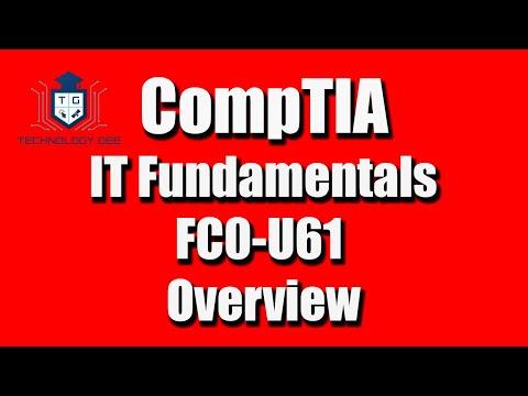 CompTIA IT Fundamentals FC0-U61 Certification - YouTube