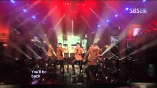 2PM - I'll be back @ SBS Inkigayo 인기가요 101031