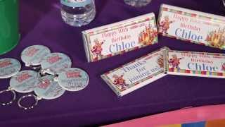 How To Personalize Birthday Party Favors - Candy Land - Shindigz Party Supplies