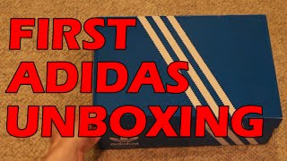UNBOXING #8: MY FIRST ADIDAS SNEAKER?